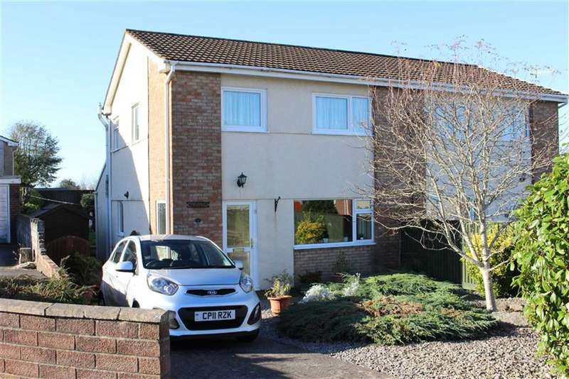 3 Bedrooms Semi Detached House for sale in Clos Trafle, Gowerton