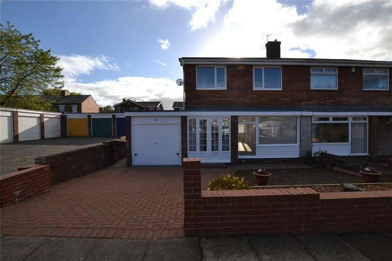 3 Bedrooms Semi Detached House for rent in Redburn Close, Houghton le Spring, Tyne Wear, DH4