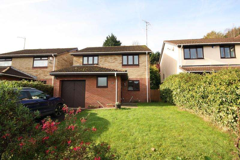 4 Bedrooms Detached House for sale in Ffos-y-fran , Bassaleg, Newport, Newport. NP10 8LU