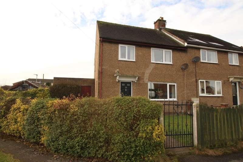 3 Bedrooms Semi Detached House for sale in Derby Crescent, Inskip, Preston, PR4