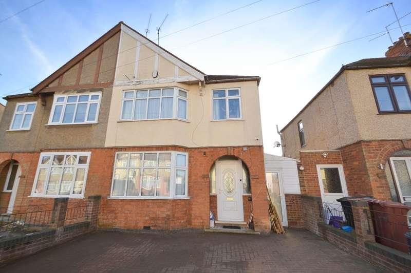 3 Bedrooms Semi Detached House for sale in Whitehills Way, Whitehills, Northampton, NN2