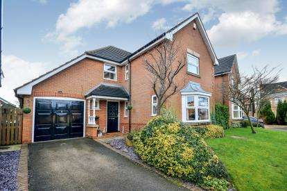 4 Bedrooms Detached House for sale in Abbeydale Drive, Mansfield, Nottinghamshire