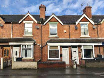 2 Bedrooms Terraced House for sale in Kimberley Road, Newcastle Under Lyme, Staffs