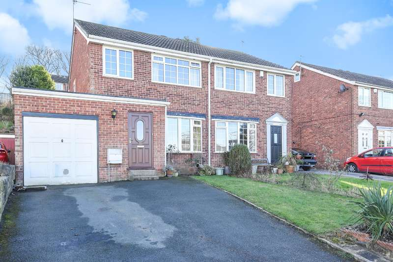 3 Bedrooms Semi Detached House for sale in Greenacre Park Avenue, Rawdon, Leeds, LS19 6RS