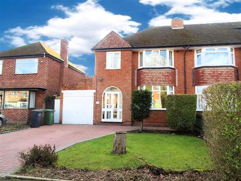 3 Bedrooms Semi Detached House for sale in St. Gerards Road, Solihull, B91 1UD