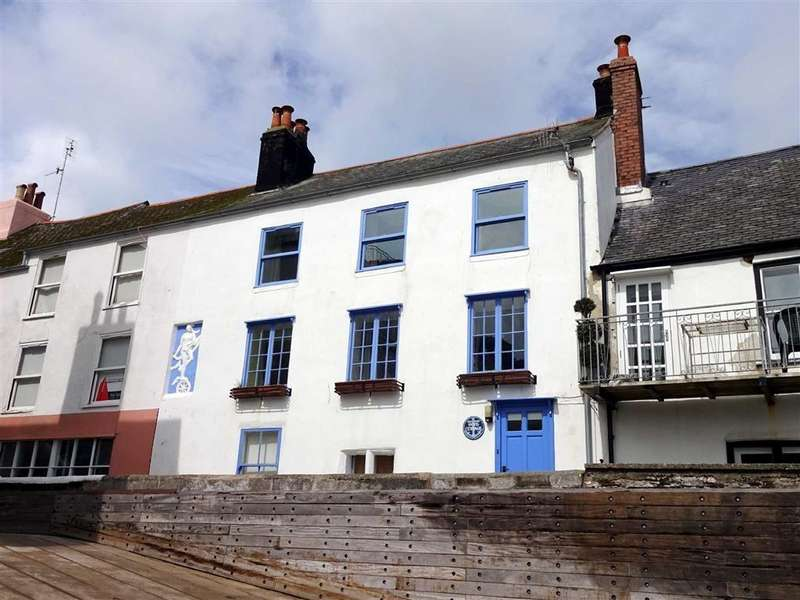 3 Bedrooms Semi Detached House for rent in Lower Ferry Slip, Dartmouth, Devon, TQ6