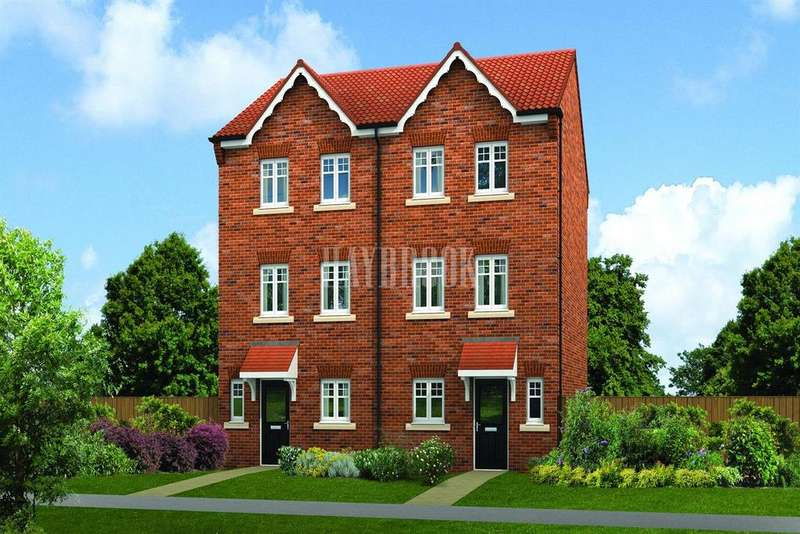 4 Bedrooms Semi Detached House for sale in The Ashbourne, Meadow View at Barnsley