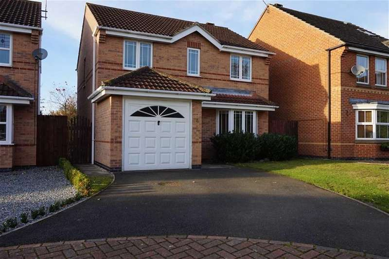 3 Bedrooms Detached House for sale in Covington, Elloughton, Elloughton, HU15