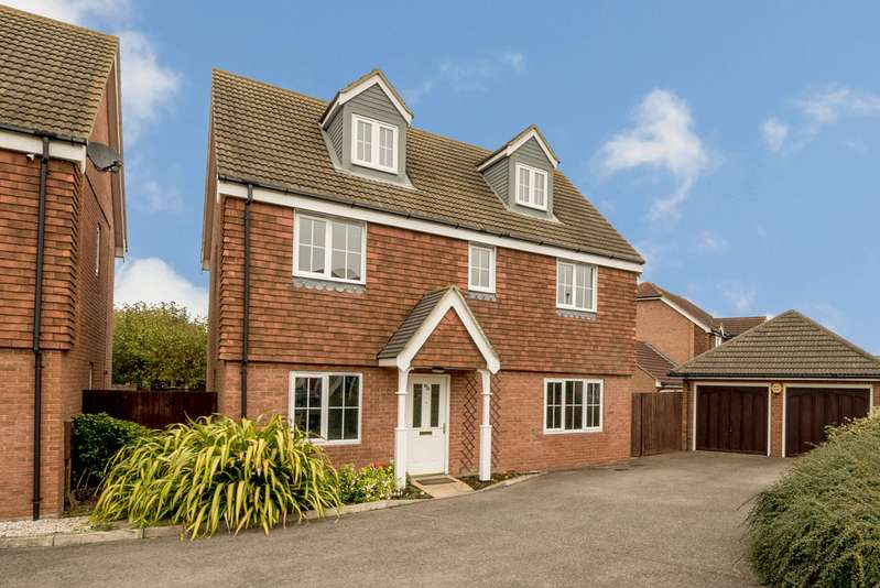 6 Bedrooms Detached House for sale in Homersham, Canterbury CT1