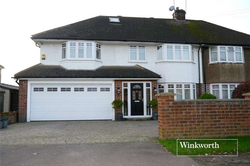 4 Bedrooms Semi Detached House for sale in Bullens Green Lane, Colney Heath, St. Albans, Hertfordshire, AL4