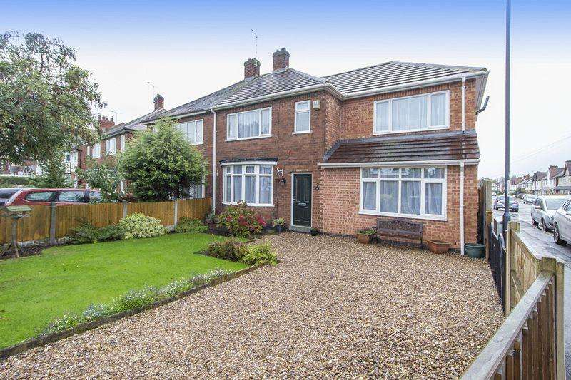 5 Bedrooms Semi Detached House for sale in CHADDESDEN PARK ROAD, CHADDESDEN