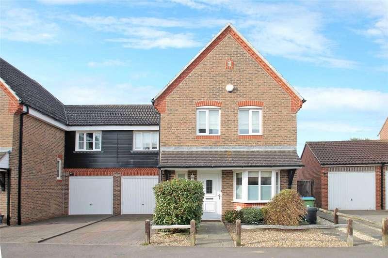 4 Bedrooms Semi Detached House for sale in The Poplars, Littlehampton, West Sussex, BN17