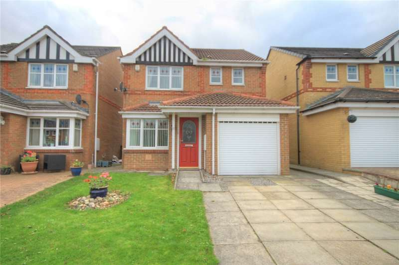 3 Bedrooms Detached House for sale in Balmoral Grove, Consett, County Durham, DH8