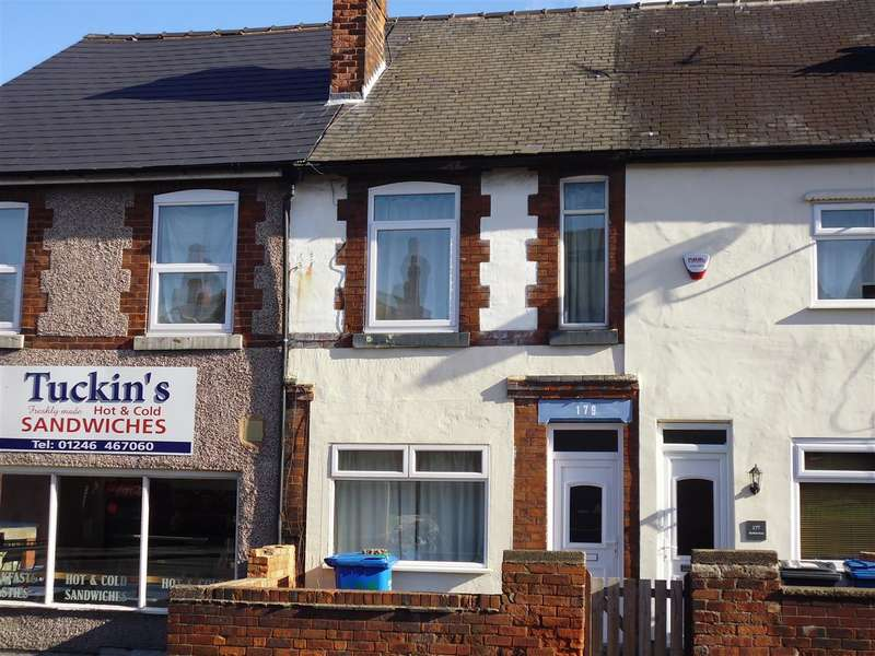 2 Bedrooms Terraced House for sale in Sheffield Road, Chesterfield