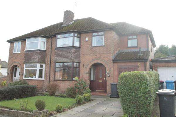 4 Bedrooms Semi Detached House for sale in Heathfield, Worsley