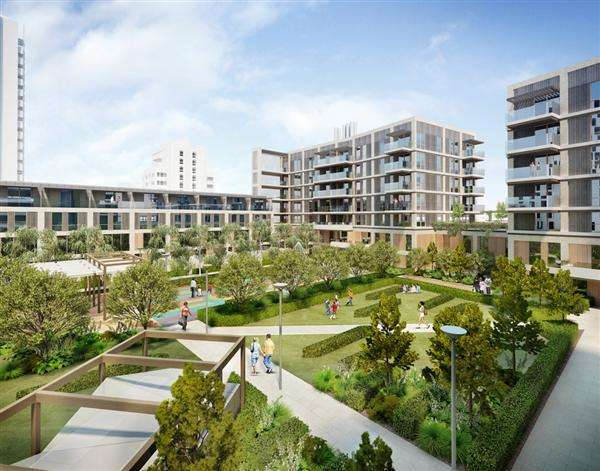 1 Bedroom Apartment Flat for sale in Hallsville Quarter, Barking Road, Canning Town, London