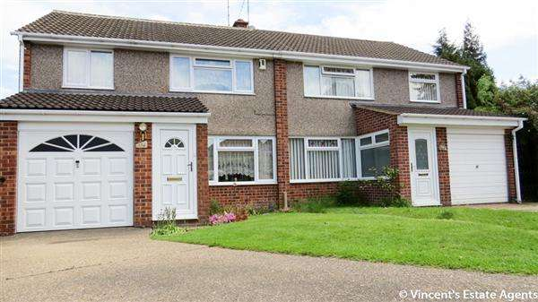 3 Bedrooms Semi Detached House for sale in Packer Avenue, Leicester Forest East, Leicester