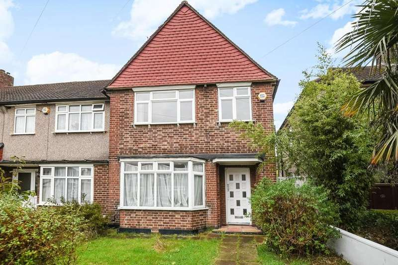 3 Bedrooms End Of Terrace House for sale in Bosbury Road, Catford