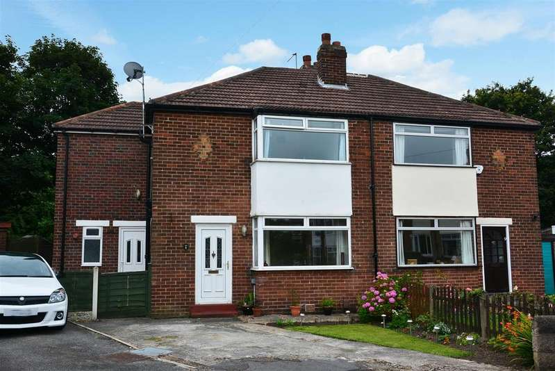 4 Bedrooms Semi Detached House for sale in Melrose Place, Horsforth