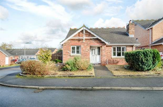 2 Bedrooms Detached Bungalow for sale in Larch Drive, Stanwix, Carlisle, Cumbria