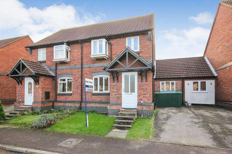 3 Bedrooms Semi Detached House for sale in Rousbury Road, Stewartby