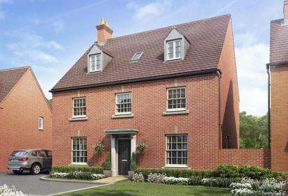 5 Bedrooms Detached House for sale in Radstone Fields, Halse Road, Brackley, Northamptonshire