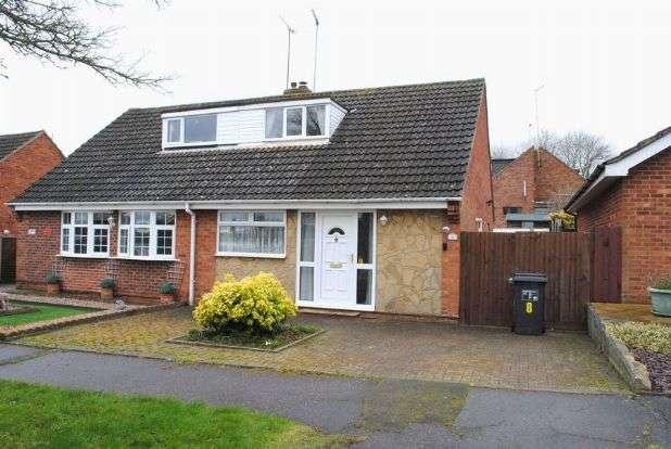 2 Bedrooms Semi Detached House for sale in Ploughmans Walk, Kingsthorpe, Northampton NN2 8BP