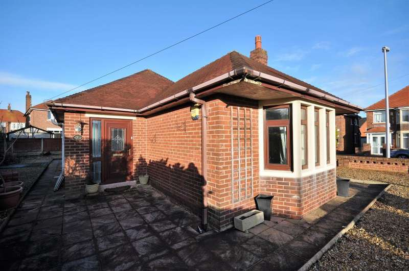 2 Bedrooms Detached Bungalow for sale in Kelmarsh Close, Blackpool, Lancashire, FY3 9UY
