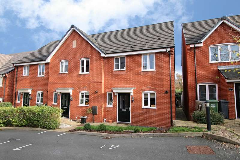 3 Bedrooms End Of Terrace House for sale in Quayle Court, Kidderminster, DY11
