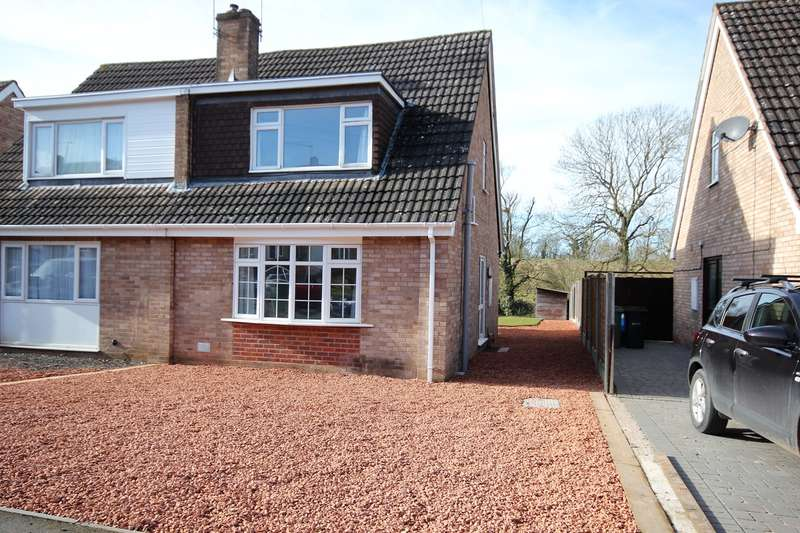 3 Bedrooms Semi Detached House for sale in Hawkwood Crescent, St Johns, Worcester, WR2