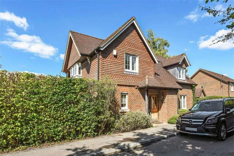 4 Bedrooms Detached House for sale in Friars Oak, Medstead, Hampshire