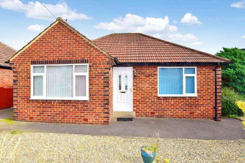 2 Bedrooms Detached Bungalow for sale in Hill Top Crescent, Harrogate