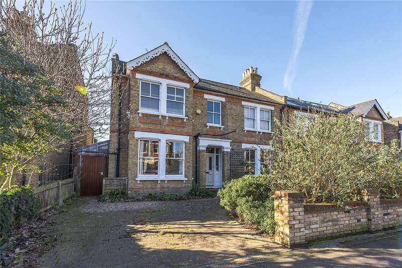 5 Bedrooms Semi Detached House for sale in Clarence Road, Teddington, TW11