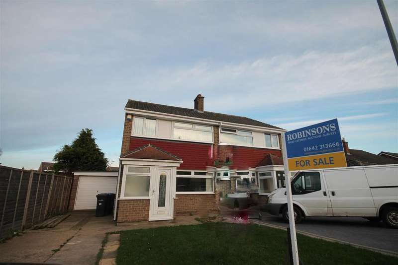3 Bedrooms Semi Detached House for sale in Carlbury Avenue, Middlesbrough
