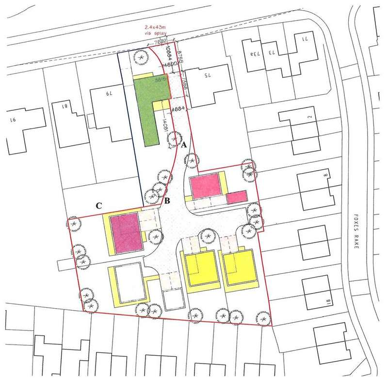 Plot Commercial for sale in Land Rear of 77 Old Fallow Road, Cannock WS11 5QL