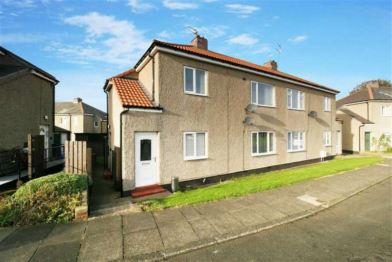 1 Bedroom Flat for sale in Northcott Gardens, Seghill, Northumberland