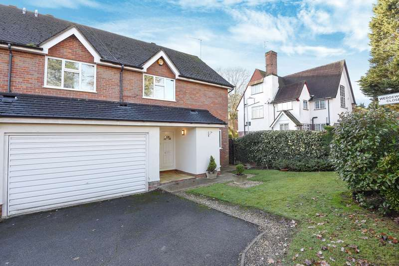 4 Bedrooms Semi Detached House for sale in The Avenue, Northwood