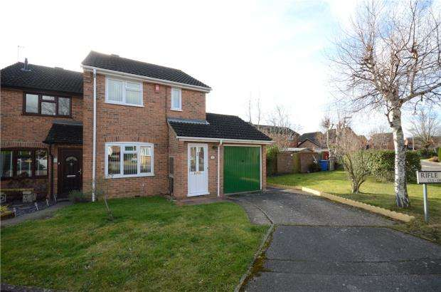 3 Bedrooms End Of Terrace House for sale in Rifle Way, Farnborough, Hampshire