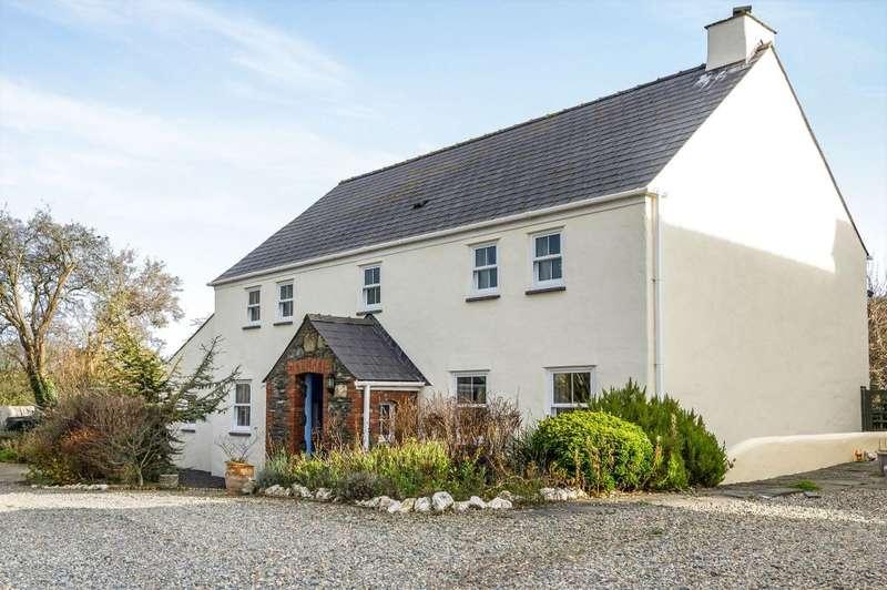 3 Bedrooms Detached House for sale in Trecelyn, Castle Morris, Haverfordwest, Sir Benfro, SA62 5DW