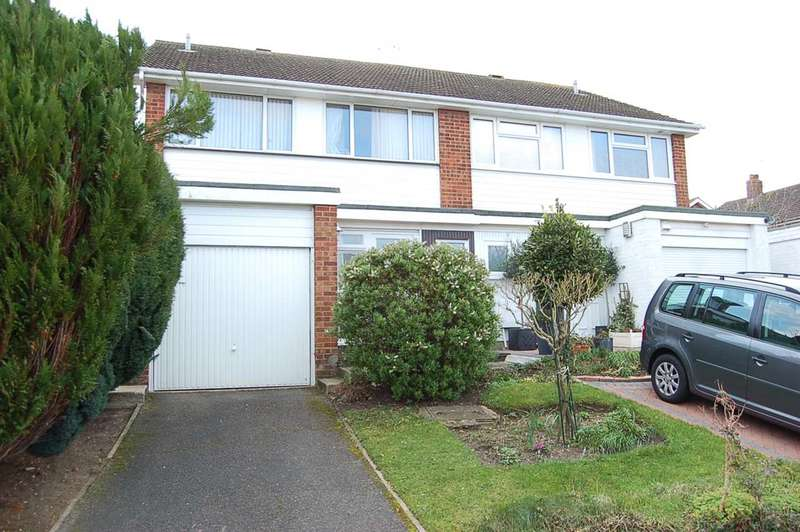 4 Bedrooms Semi Detached House for sale in Riffhams Drive, Great Baddow, Chelmsford