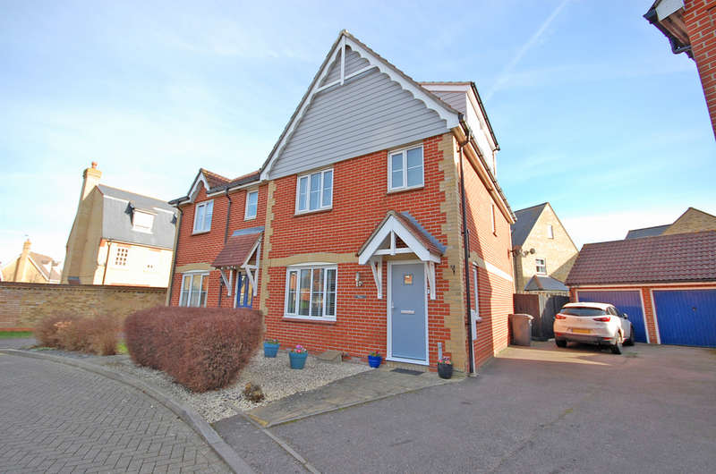 4 Bedrooms Semi Detached House for sale in Melford Grove, Braintree, CM77