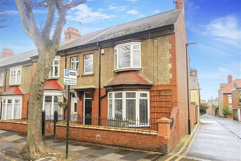3 Bedrooms Terraced House for sale in Cliftonville Gardens, Whitley Bay, Tyne And Wear