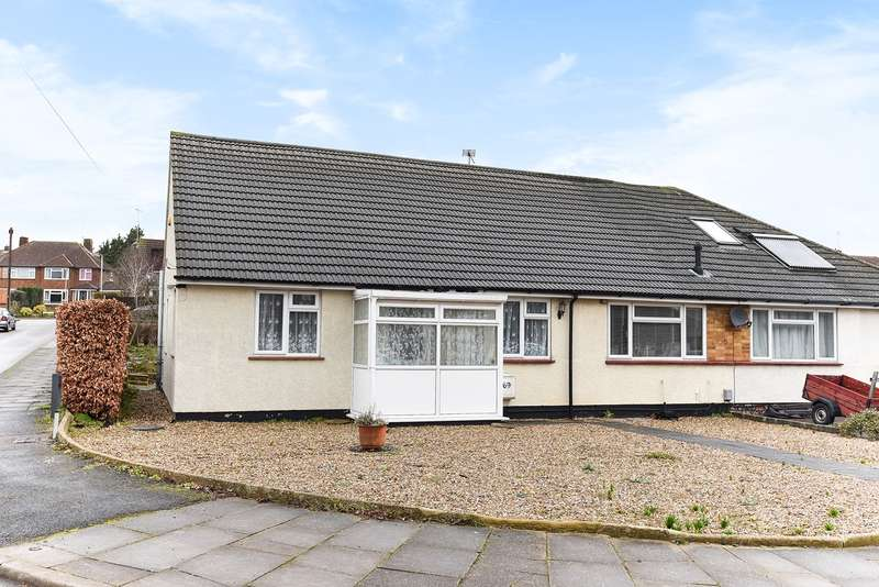 3 Bedrooms Semi Detached Bungalow for sale in Ninesprings Way, Hitchin, SG4