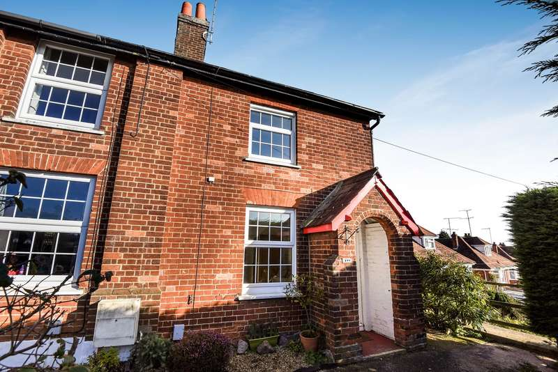 2 Bedrooms End Of Terrace House for sale in Stevenage Road, Hitchin, SG4