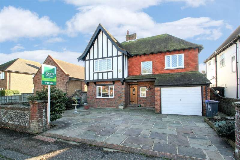 4 Bedrooms Detached House for sale in Lansdowne Road, Worthing, West Sussex, BN11
