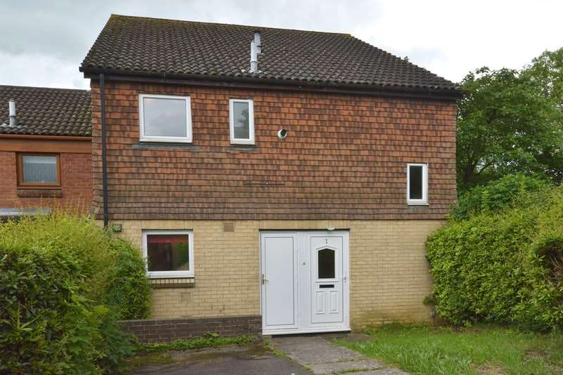 2 Bedrooms End Of Terrace House for sale in Willow Brook Square, Northampton, Northamptonshire, NN3