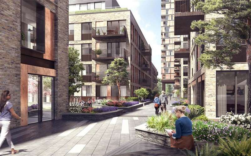 2 Bedrooms Flat for sale in Anthology Deptford Foundry, Moulding Lane, Deptford, London, SE8