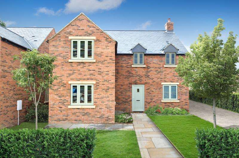 4 Bedrooms House for sale in Plot 9, Noral Way, Noral Way, Banbury, Oxfordshire