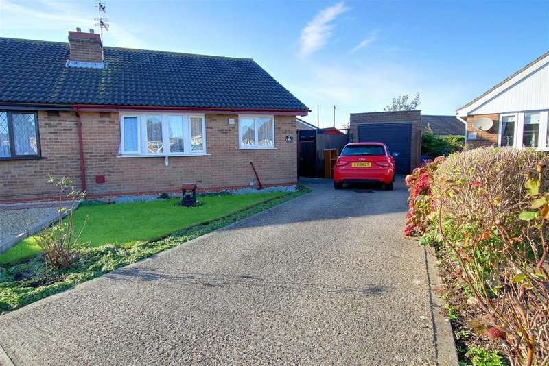 2 Bedrooms Semi Detached Bungalow for sale in Eagle Close, Mablethorpe