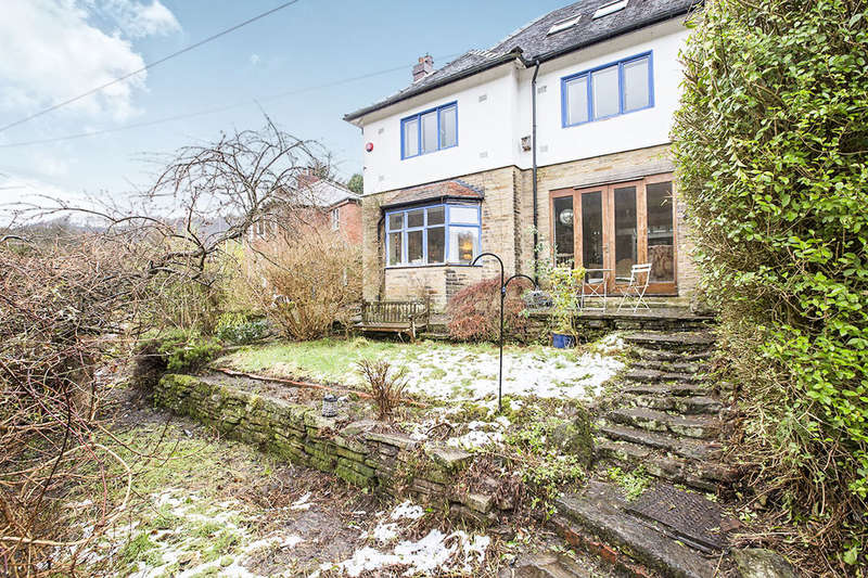 4 Bedrooms Semi Detached House for sale in Lee Mill Road, Hebden Bridge, HX7